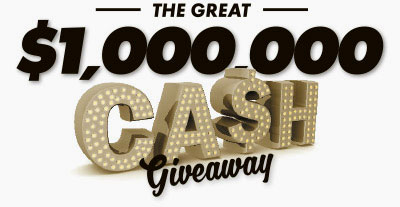 The Great $1 Million Cash Giveaway
